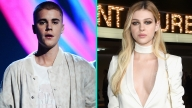 Justin Bieber Steps Out Looking Sunburnt With Actress Nicola Peltz in Beverly Hills