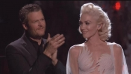 Beaming Blake Shelton Gives Gwen Stefani Standing Ovation After Her Emotional 'Voice' Performance