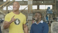 EXCLUSIVE: Kevin Hart & The Rock Compare Workouts on 'Central Intelligence' Set