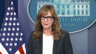 'West Wing' Star Allison Janney Returns to White House and Takes Over the Press Briefing!
